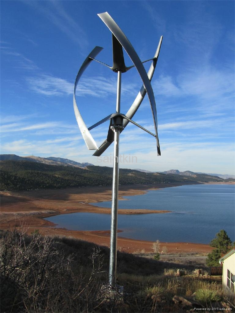 Small Wind Turbine Generator 1kw Saintkin China