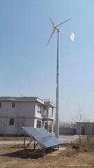 High efficiency wind solar hybird system