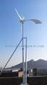 Low noise but higher efficiency wind