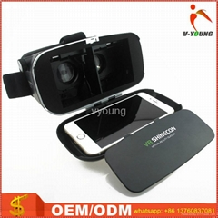 Universal VR case 3D glasses for game and movie fit for 4.0-6.7 inch phones