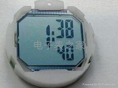 Fashionable electronic watch cassette mechanism