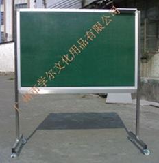 诺迪士NUODS定做进口活动不锈钢铝支架磁性粉笔绿板
