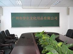 諾迪士訂做課室大黑板培訓用磁性進口樹脂綠板
