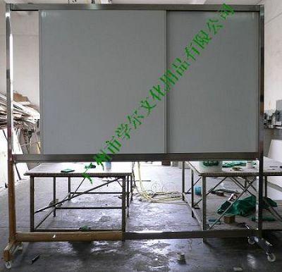 諾迪士定做軌道磁性白板活動不鏽鋼支架寫字板 1