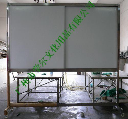 諾迪士定做軌道磁性白板活動不鏽鋼支架寫字板 2