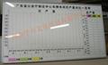 諾迪士訂做畫線貼字白板絲印UV磁性寫字白板 2