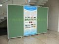 諾迪士廠家定做活動圖書館展館折疊式雙面屏風展板 4