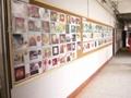 諾迪士廠家訂做實木櫸木邊水松展示板相片牆板文化牆板 2