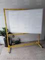 諾迪士定做活動加厚垂直旋轉雙面磁性白板360度可轉寫字板 2