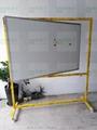 諾迪士定做活動加厚垂直旋轉雙面磁性白板360度可轉寫字板 3
