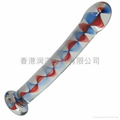 Glass dildo adult sex toy novelty toy G-Spot Anal toy