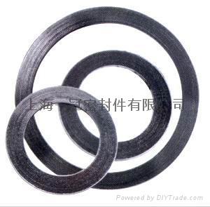 金屬纏繞墊片 帶內外環金屬墊 2