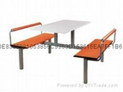 杭州快餐厅食堂桌椅