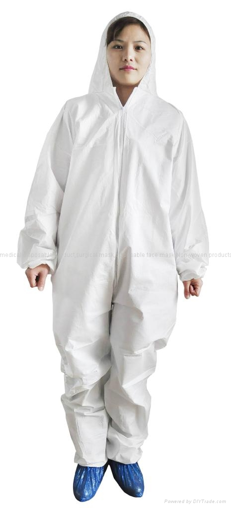Disposable Non woven coverall  with cheap price high quality 1