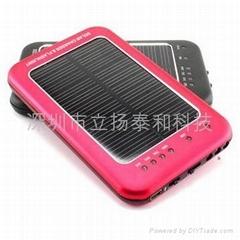 太阳能充电器(带电量显示、手电筒功能)