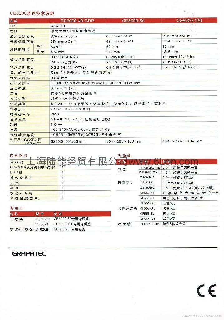 日本图王CE5000/60/120切割刻字绘图仪 3