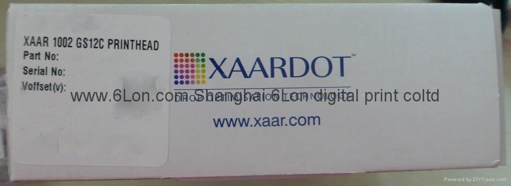 Xaar1002/GS12噴墨打印頭 1