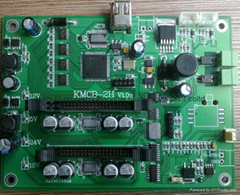 柯尼卡KM512单pass打印控制系统