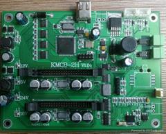 柯尼卡KM512單pass打印控制系統