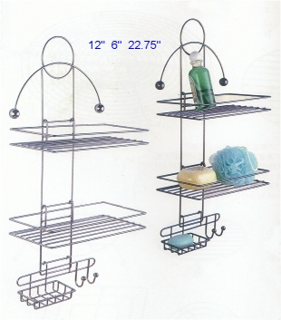 wire bathroom racks towel shelves 1