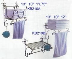 wire bathroom racks towel shelves