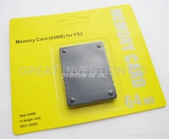 Sony PS2 64MB Memory Card MEMORY UNIT,Neutral Packing and OEM Service Available