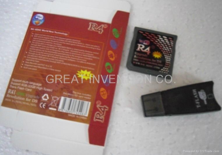 V1.45 R4I-SDHC.COM RED FIRE CARD FOR NDSL/NDSI/NDSI XL/NDSI LL,R4I CLASSIC 2