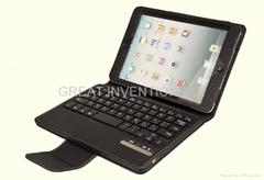 苹果IPAD MINI 可拆卸无线蓝牙皮套键盘