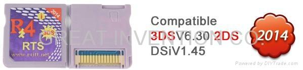 R4iTT RTS Upgrade 3DS Slot-1 Cartridge R4iTT 2014 DS CARD FOR NDSI 3DS V6.30 2