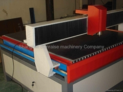 glass cnc engraver machine/ glass surface engraving