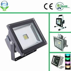 10W/30W/60W RGB led floodlight