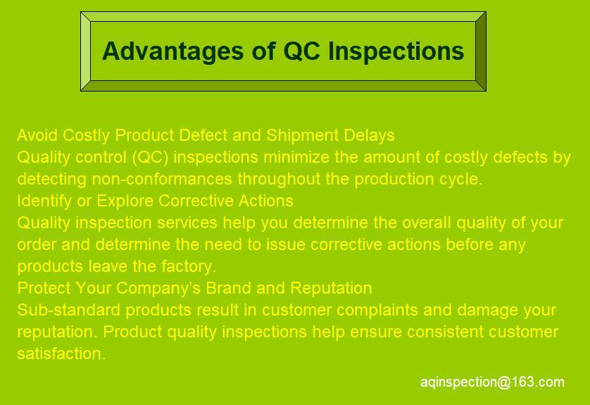 Pre-shipment random inspection 3