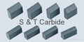 Tungsten Carbide Snowplow Inserts