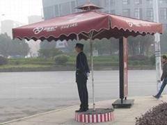 宁夏帝玺防风户外广告太阳伞