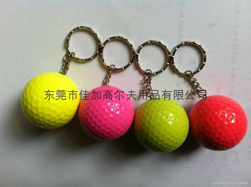 高爾夫鑰匙扣球 5