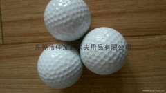 Golf double game ball