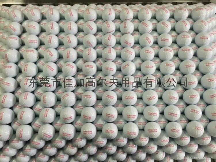 高爾夫雙層練習球 2