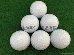Golf double golf balls