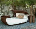 daybed outdoor furniture wicker