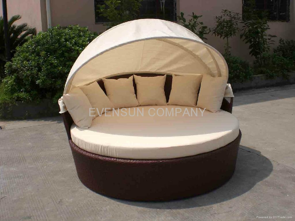 Daybed Round Bed Sun Bed Esr 7020 Esr China