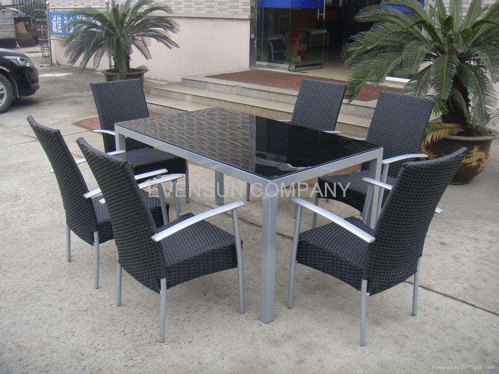 dining set, outdoor furniture 1