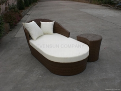lounge outdoor furniture sunbed