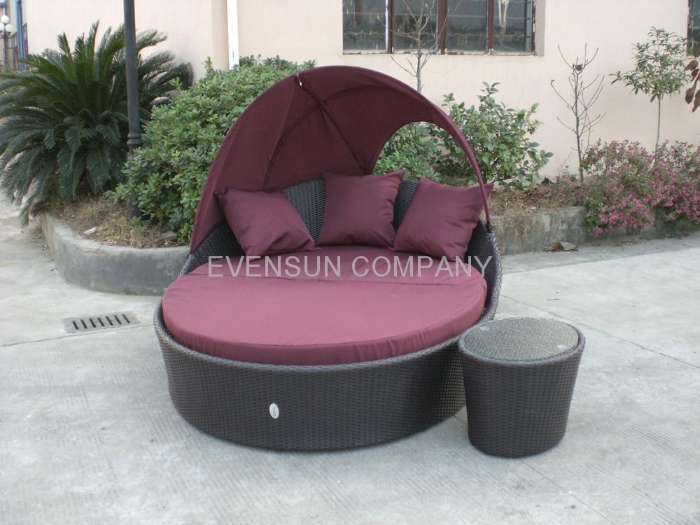 Daybed Round Bed Sun Bed ESR 7103 ESR China