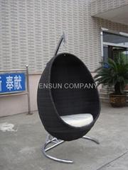 rocking chair, outdoor chair egg chair