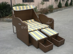 beach basket beach sofa