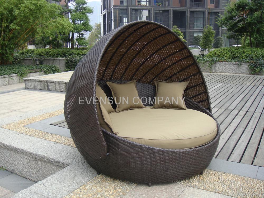 Daybed Round Bed Sun Bed ESR 9451 ESR China