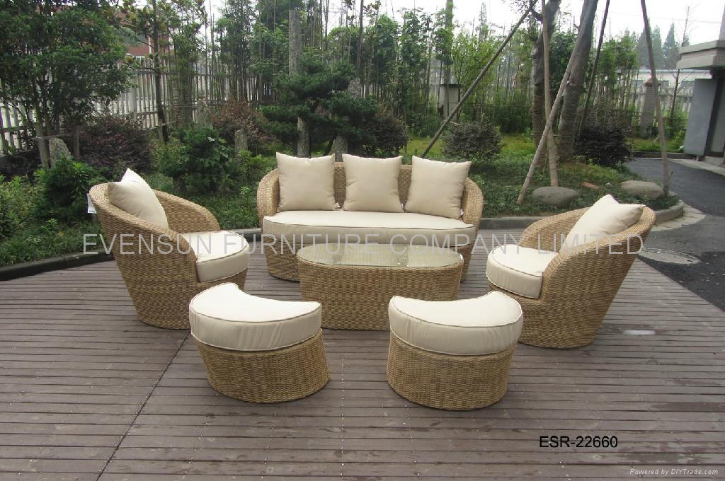 rattan sofa lounge sofa set 1