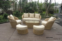 rattan sofa lounge sofa set