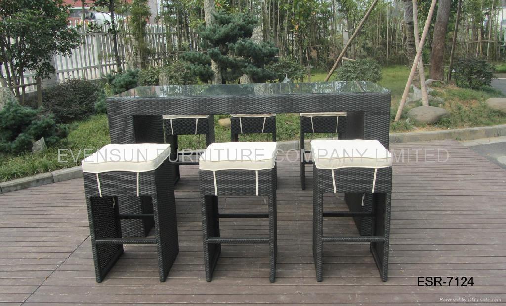 outdoor bar table