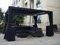 outdoor rattan/wicker gazebo